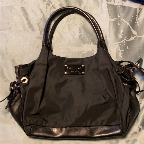 kate spade Handbags - Kate spade black nylon Stevie bag